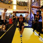 Mohd Saddam In Action During R U Tough Enough South East Asia Edition